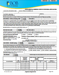 BOB Supplemental Application Form_BOBExpressOnline